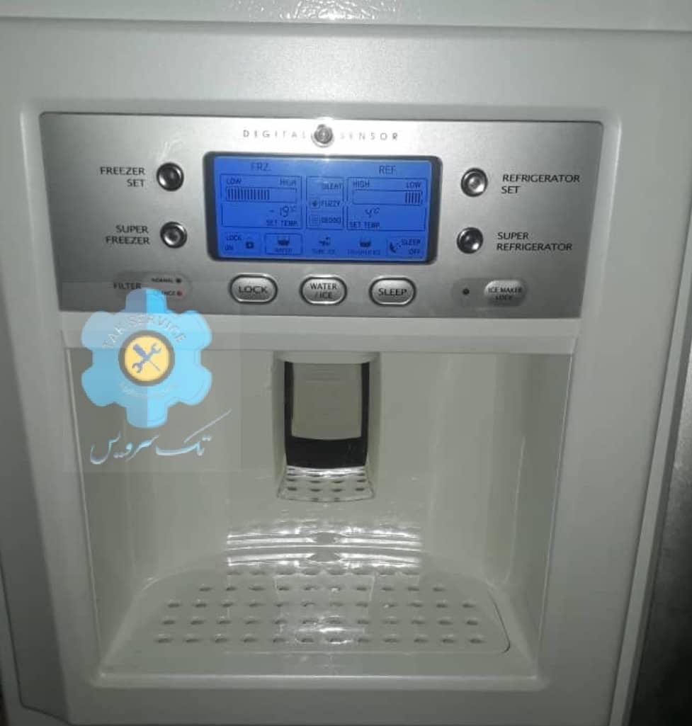 برد یخچال اسنوا